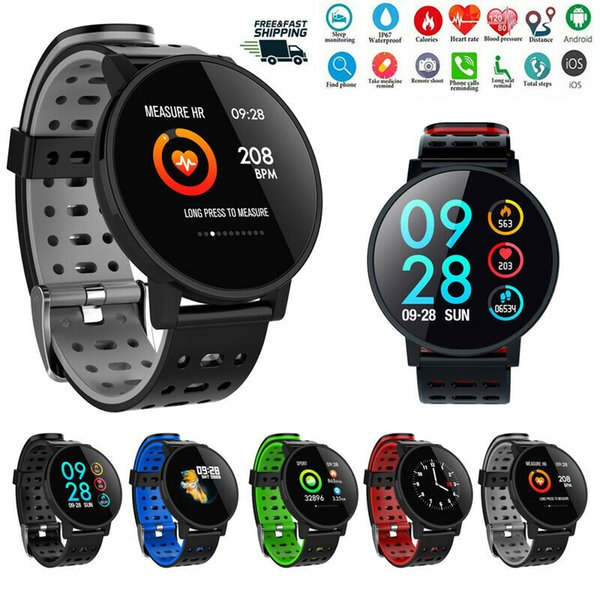 T3 Bluetooth relógio inteligente Cardíaca Pressão oxigênio do sangue do esporte da aptidão Rastreador
