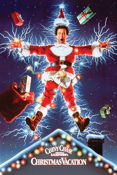 CHRISTMAS VACATION - ONE SHEET MOVIE Art Silk Poster 24x36inch 24x43inch 0587