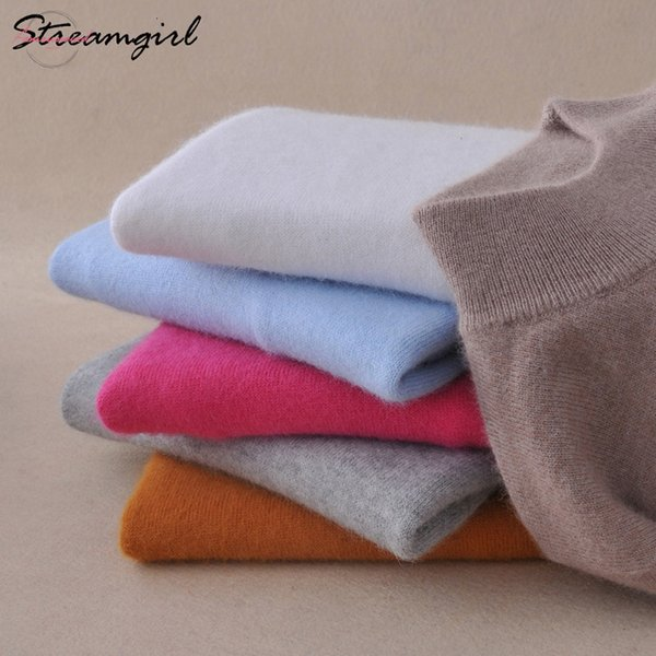 Sweaters Womens Ladies Sweater For Cashmere Woman Red Women Jumper Knitted Winter Cashmere Sweater Female Women Jumper