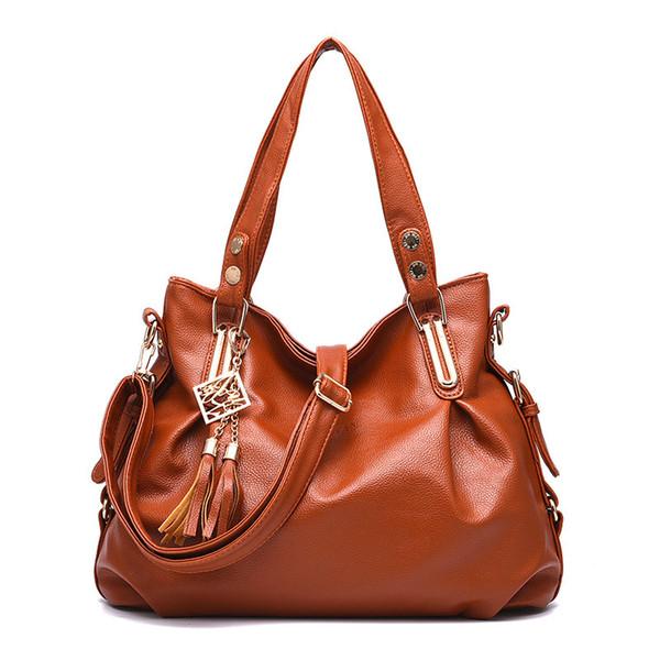 New Fashion Designer Women Handbag Female Pu Leather Bags Handbags Ladies Portable Shoulder Bag Office Ladies Hobos Bags Totes