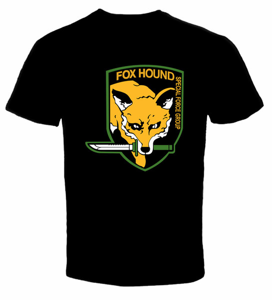 Camiseta Fox Hound Metal Gear Solid nueva