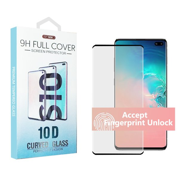 For 10 5g ver ion am ung 10 9 note 10 8 plu galaxy note 9 8 tempered gla full creen color protector 3d curved 7 edge