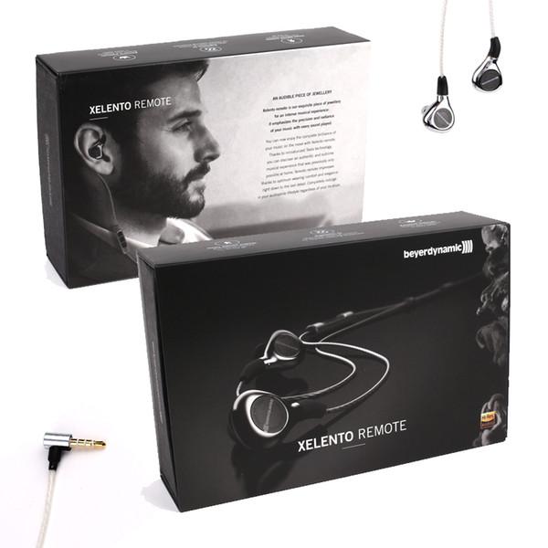XELENTO REMOTE de gama alta en el oído Auriculares Tesla En Monitores en la oreja por beyerdynamic auricular envío gratis DHL