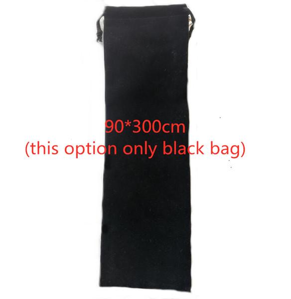 9 * حقيبة سوداء 30CM