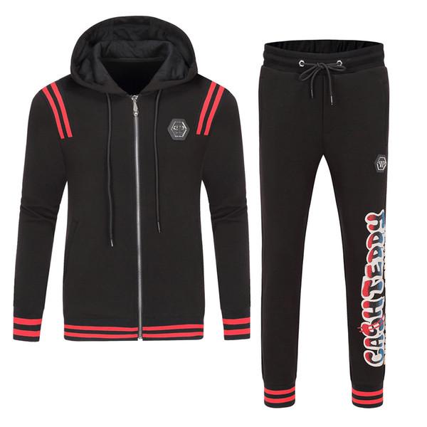Yeni autumnAutumn erkek spor giyim Kazak takım elbise moda spor erkek hoodie ceket ceket erkek Medusa'nın spor giyim spor pp uyacak