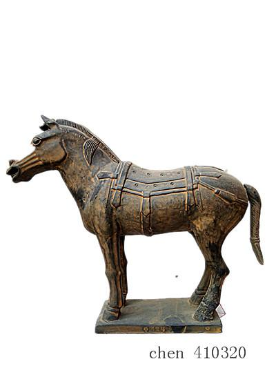 Terracotta Warriors replica Ancient Qin dynasty horse 30cm height eighth wonder world Great history beautiful gift for home Furnishing artic