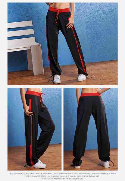38 Nuevo Lu Yifan Summer Square Dance Deportes Fitness Pantalones Mujeres Yoga Pantalones Loose Welcome Wholesaler Purchase