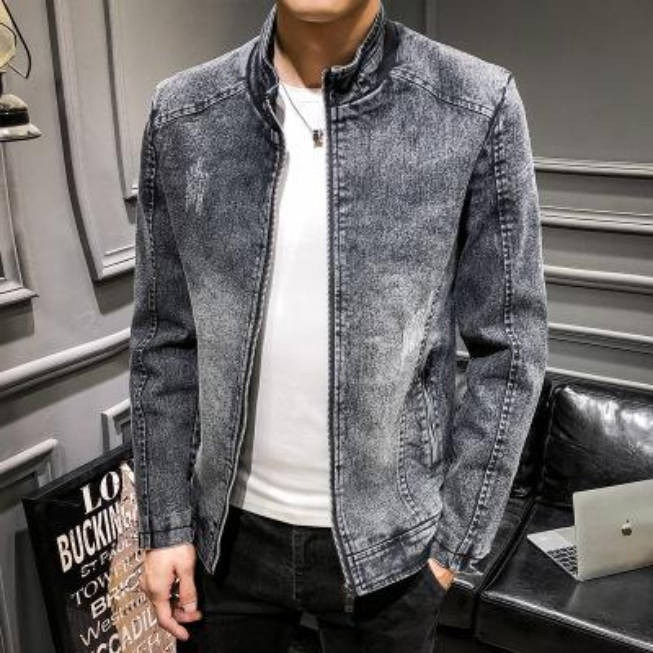 Ins Europe Designer Denim Jacket Men do old hip hop coat women blue Jean Jackets Brand Garment Washed Mens Chaqueta Outwear tops M-3XL