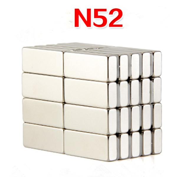 25X10X5mm Super Potente Bloque de tierras raras Imán de NdFeB Imanes de neodimio N52
