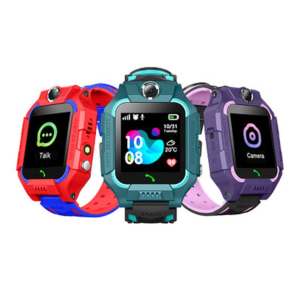 top popular Q19 Smart Watch Wateproof Kids Smart Watch LBS Tracker Smartwatches SIM Card Slot with Camera SOS for Android iPhone Smartphones in Box 2020