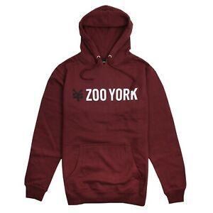 Zoo York Resmi Sokak Giyim Markası Erkekler 039 s Gallant Hoodie Bordo Kırmızı