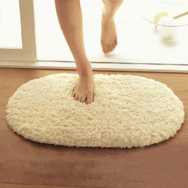 1 PCS Anti-slip Bathroom Rug In The Toilet, Machine Wash Bathroom Carpet Mat For tapetes New 18 Styles Bath Mats Rug,