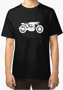 Seeley Line Art urban Original Vintage Motorcycle T Shirt INISHED Productions