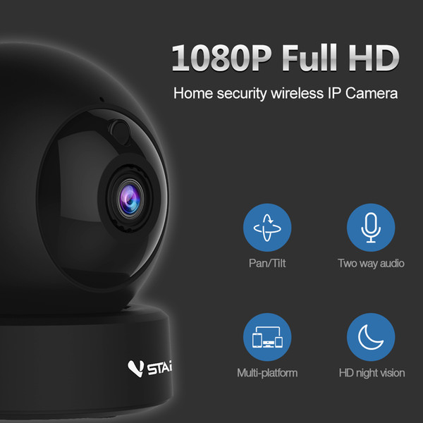 Wireless HD 1080P Vstarcam G43S WiFi IP Camera Video Surveillance Indoor Wi-fi Baby Monitor Network Nanny Sitter Night Security