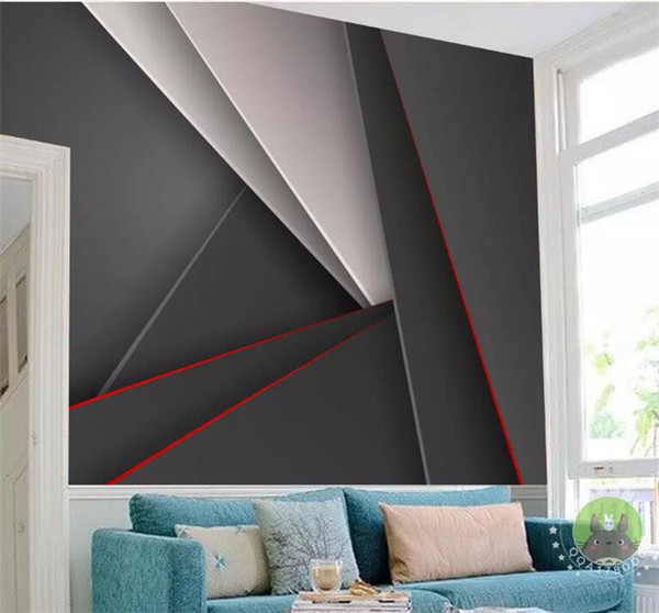 3D Abstract Geometry Mural Photo Wallpaper Large Size for Living Room Bedroom Printing Wall Paper Home Wall Decor Custom Size