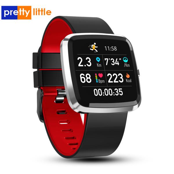 Smart watch uomini donne impermeabile Android T2 intelligente braccialetto pressione sanguigna monitor di frequenza cardiaca Tracker attività fisica