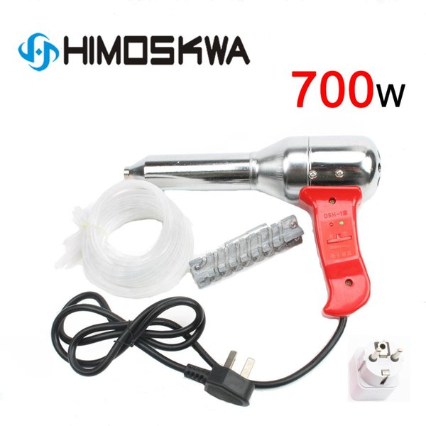 700W plástico ajustable soplete antorcha pistola de aire caliente 100-450 grados voltaje 220v-240v corriente 50-300L herramientas de temperatura mínima de metal