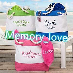 Sac de plage brodé personnalisé brodé deux tons Patchwork Toile Sac de plage Sac en gros Toile Femmes Colorful Stripe