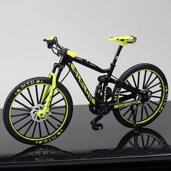 Downhill Mountain Bike Green