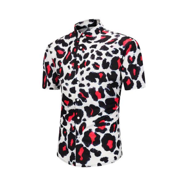 2018 American business brand self-cultivation plaid shirt, fashion designer brand long-sleeved cotton casual shirt striped dress shirt #20