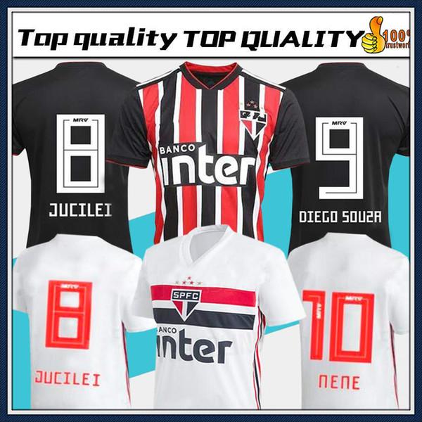 2019 Brasil São Paulo camisas de futebol thai qualidade home away camisas 19 20 Brasil Sao Paulo camisas camisas de futebol
