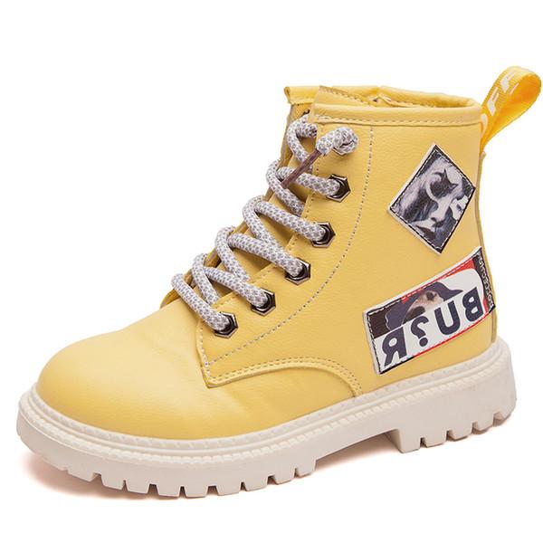 botas meninas miúdos sapatos de inverno para meninos e menina