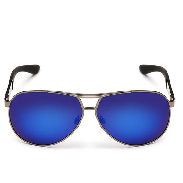 24579eed80 Hombres clásicos gafas de sol polarizadas Polaroid Piloto de conducción gafas  de sol Hombre Gafas de