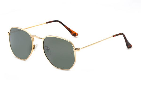 Haute qualité polarisé objectif pilote De Mode Lunettes De Soleil Pour Hommes et Femmes Marque designer Vintage Sport Lunettes De Soleil C3356