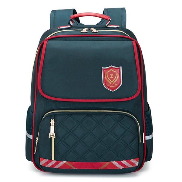Moda crianças mochilas escolares para adolescentes menino menina grande capacidade Multi-bolso mochila mochila à prova d 'água crianças bookbag mochila