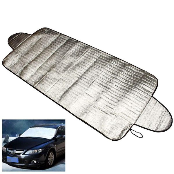 Adeeing 150 x 70cm Car-styling Windscreen Cover Heat Sun Shade Anti Snow Frost Ice Shield Dust Protector Pearl cotton r30