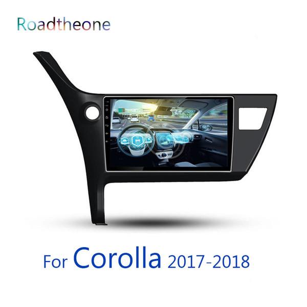 para Toyota Corolla 11a generación 2017-2018 e160 e170 10.1 pulgadas reproductor multimedia para automóvil Vehículo GPS Navigator System dvd para automóvil