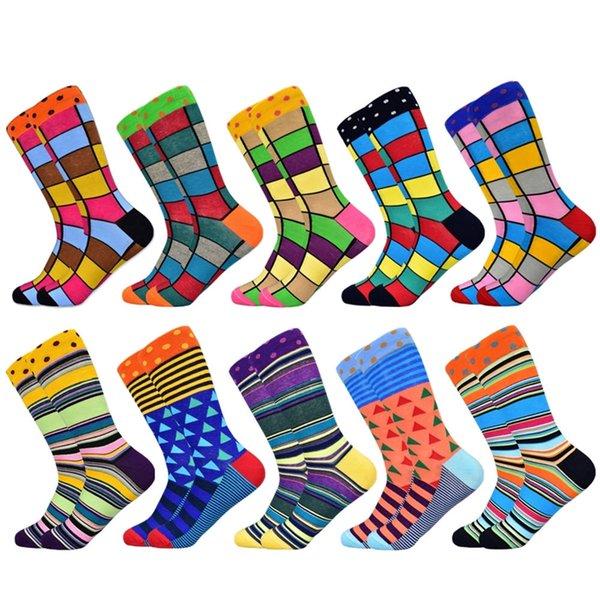 10 pairs of socks-E