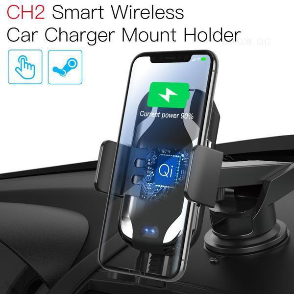 JAKCOM CH2 Smart Wireless cargador del coche del sostenedor del montaje de la venta caliente en otras partes del teléfono celular como H1 Runbo smartwach portátil