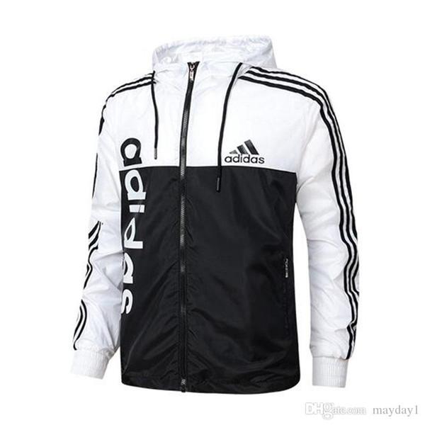 Модные мужские дизайнерские куртки Новые мужские куртки пальто ветровка с капюшоном AD толстовка с длинным рукавом бренд мужской одежды