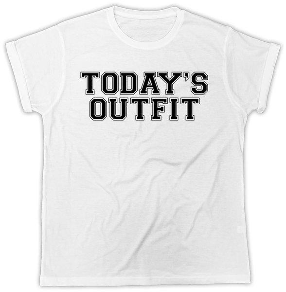 TODAYS OUTFIT FASHION IDEAL GIFT PRESENT COOL SHORT SLEEVE UNISEX T SHIRTTees Custom Jersey t shirt