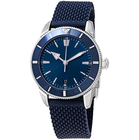 Brand new AB2030161C1S1 Automatic Men's Stainless Steel case Blue Watch strap 44 mm High Quality