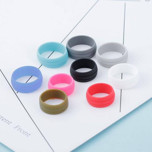 Bonito dedo bandas de silicona Anillo de goma de silicona para Mech Protección Vape Mod Bandas de goma de Vape Vaporizador de colores RDA tanques de vestir