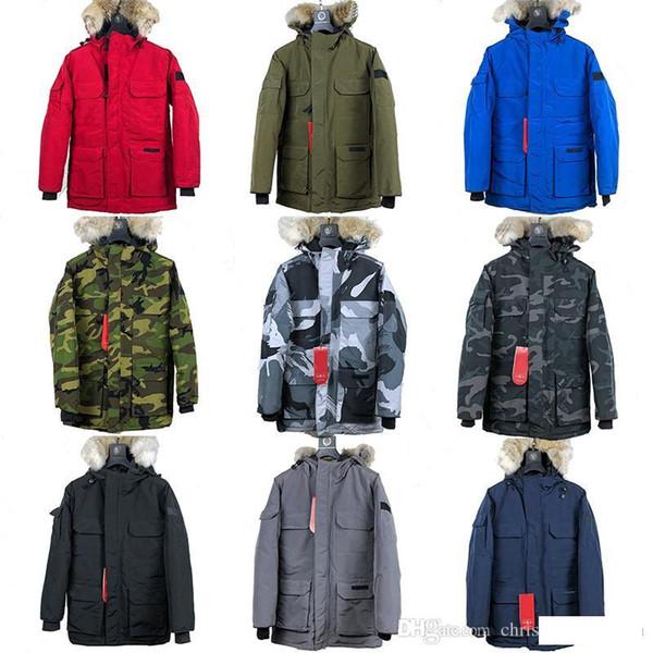 Kanada Sonbahar ve Kış Sıcak Erkek Tasarımcı Yeni 90% Kaz Aşağı İnce Kapşonlu Aşağı Yelek Kalın Rahat Erkek Aşağı Ceket