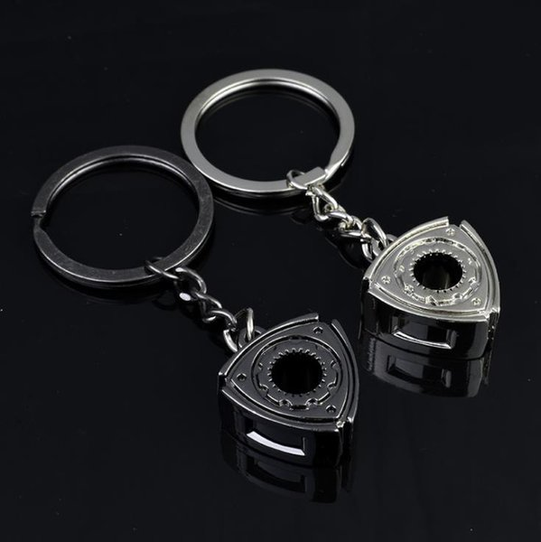 Wholesale Creative Gift Car Rotor Engine Metal Keychain
