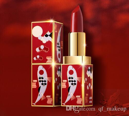 HOT Palace Museum Ancient Style, Chinese Lipstick, Acacia longevity moisturizing, waterproof, non-decoloring, matte and genuine makeup