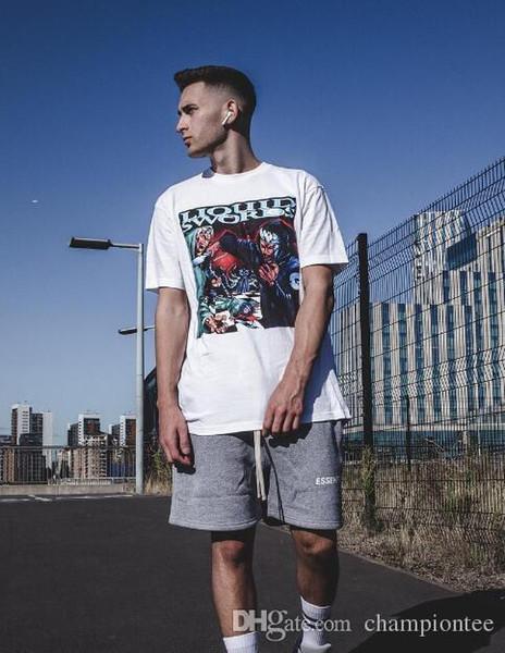 LIQUID SWORDS T Shirts Hip Hop O-neck Men And Women Summer T-shirt