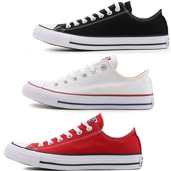size35-46 New quality Unisex Low-Top & High-Top Adult Women's Men's Canvas Shoes 15 colors Laced Up Casual Shoes Sneaker shoes