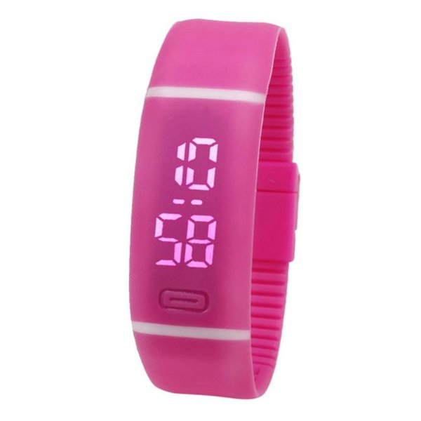 Mens Womens Rubber LED Watch Date Sports Bracelet Digital Wrist Watch Store sales promotion at a loss of 99 Free Shipping au4