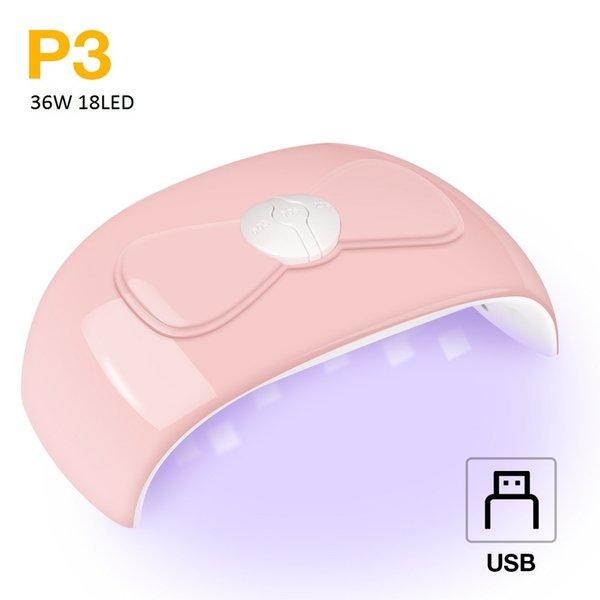 36W 18LED USB