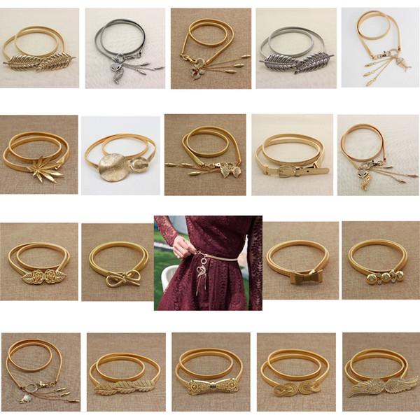 mola elástica cinto de folha de animais de metal 19 boutique das mulheres, toda a roupa temporada, vestidos, acessórios e elástico