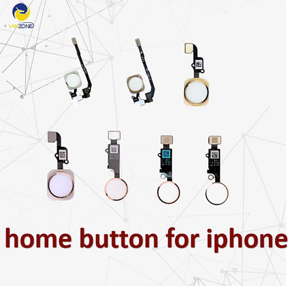 Cellcore für iphone 5 5s 5c se 6 6 plus 6s plus 7 8 plus hauptknopf flexkabelband ersatz kostenloser versand
