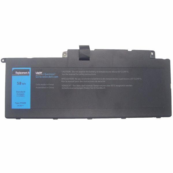 WEYON 14.8V 58Wh 4-элементный ноутбук Li-Ion аккумулятор для Dell Inspiron 17 7737 15 7537 Series F7HVR G4YJM 062VNH T2T3J Аккумуляторы