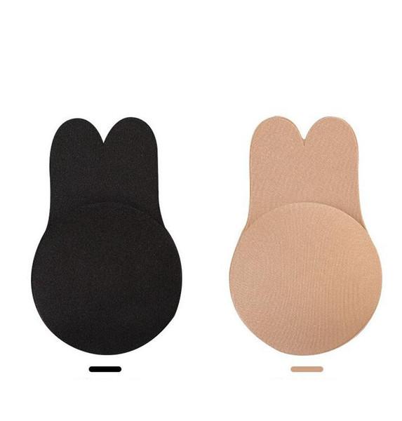 Autoadesivo Push Up Bra Silicone invisível mamilo capa adesivos Underwear Seamless Strapless Bra Pad 200 PCS OOA6409