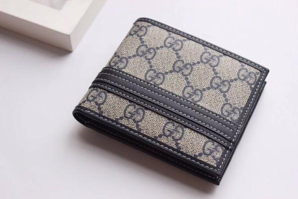 Brown fashion style men monedero billetera de cuero de calidad suave bifold titulares de tarjetas de crédito billeteras para hombres envío gratis sin caja 138042