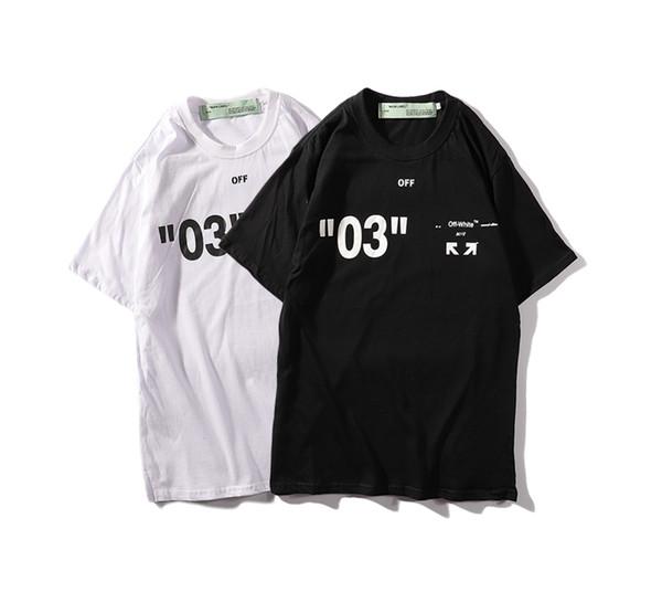 Herren T-Shirt schlicht monogrammiert weiß Kurzarm Herren Shirt 03 Label Street Style T-Shirt gratis Boot